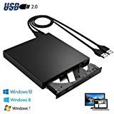 Portable External Slim USB 2.0 CD-RW Burner Recorder Optical Drive CD ROM Combo Writer For Netbook