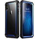 i-Blason Coque iPhone XS Max, Coque Intégrale Anti-Choc Bumper avec Dos Transparent...