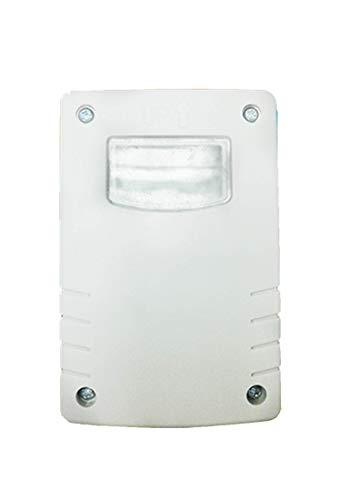 Garza Power - Detector Crepuscular Regulable Exterior