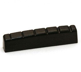 Gewa - 547174 Cejilla negra para guitarra eléctrica tipo Gibson y Fender, 42x 5,9x88mm