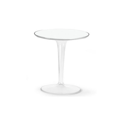 Kartell 8600B4 Side Table TipTop Clear