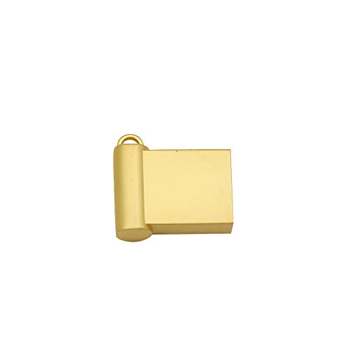 KEYkey 64GB USB-Flash-Laufwerke USB-Sticks Portable USB Memory Sticks Jump Drive Metall U Disk Data Storage Kompatibel für Computer-E1 Typ Goldene -