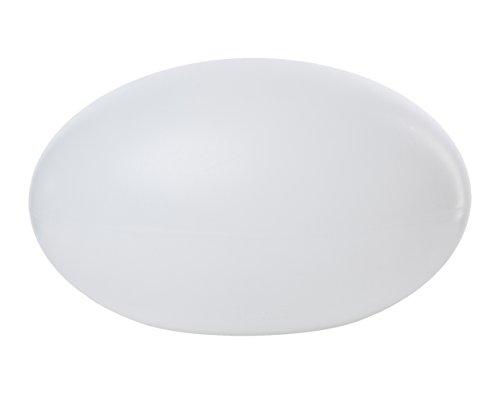 8 seasons design - LED Deko Leuchte Shining Eye (42 cm, oval, RGB Farbwechsel, dimmbar, IP44, Kugelleuchte für Garten, Terrasse, Haus, Badezimmer) weiß