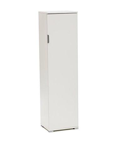 Memi me207bia portascope,  legno, bianco, 151 x 33 x 40