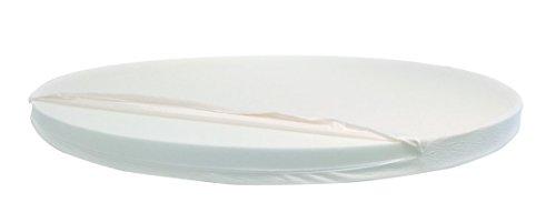 Materasso rotondo dolce morfeo alto 14 cm, diametro 210 cm, densitÀ 30, sfoderabile, ortopedico anallergico e antiacaro, extra comfort, offerta per chi ordina entro il 31 gennaio 2016 fodera in aloe vera