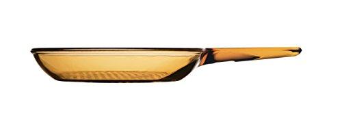 Visions - Sartén de vidrio Pyroceram, 24 cm, color marrón
