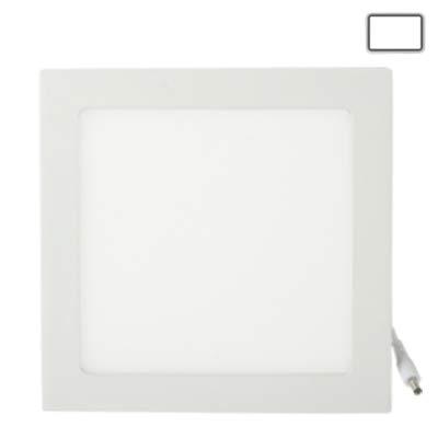 18w Laterne (Deckenleuchte LED 18W weiße LED-Tag-Laternen-Glühlampe, Lichtstrom: 1600lm, Größe: 22,4 cm x 22,4 cm x 1,7 cm (Artikelnummer : S-led-5539w))