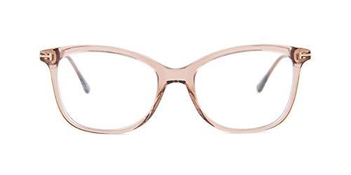 Tom Ford Unisex-Erwachsene Ft5510 Brillengestelle, Braun (Marrone CHIARO LUC), 52
