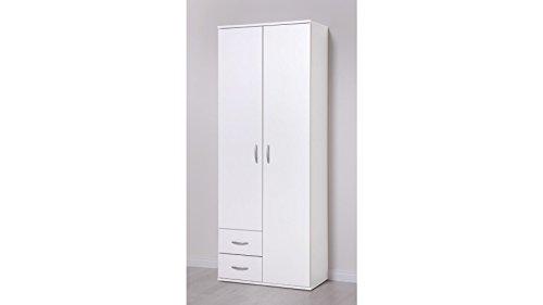 PROCONTOUR Mehrzweckschrank, 2 Türen +2 Schubkästen weiß