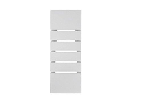 lineteckledr-e1100103-applique-da-parete-in-gesso-ceramico-verniciabile-rettangolare-con-scanalature