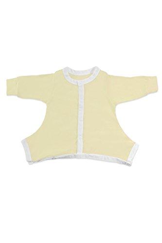Hip-Pose Baby-Schlafanzug für Spreizhose und Gipshosen für Babys 3-6 Monate, gelb