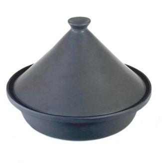 Cast Iron Tagine Black - Base Diameter 25cm