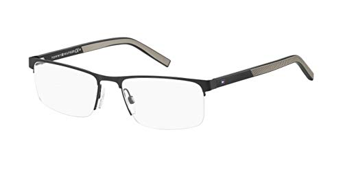 Tommy Hilfiger Brille (TH-1594 003) Acetate Kunststoff - Metall matt schwarz - matt grau