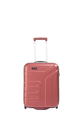 """Travelite Koffer-Serie """"VECTOR"""" von travelite: Robuste Hartschalen-Trolleys und Beautycases in 4 Trendfarben Kosmetikkoffer, 55 cm, 44 liters, Rot (Koralle)"""