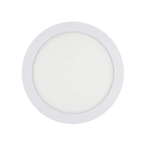 ESTABLED LED Downlight 18W 4000K Circular Extraplano 1580 Lúmenes Luz Neutra