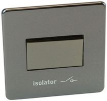 FAN ISOLATING SWITCH BLACK NIC 7017/BKN By CRABTREE
