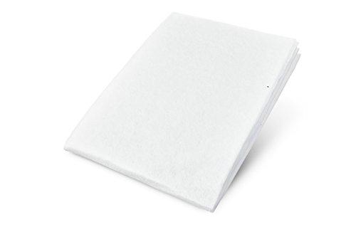 Anti-Rutsch-Vlies BASIC ideal für Matratzen & Topper von Boxspring-Betten & Teppiche, beidseitiger Gleitschut rutschfest ohne Kleber, leicht anpassbar & zuschneidbar, universelle Unterlage gegen Verrutschen in 100 x 200cm