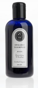 Shampoing aromathérapie Bio à la Rose Bio (500ml) by NHR Organic Oils