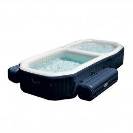 Intex - Spa con piscina hinchable Intex fibertech 3,86x2,57x71 cm - 28492