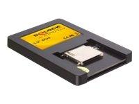 DeLock 2½ Speicherkartenleser S - ATA für SD/SDHC