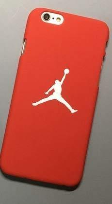 iPhone 7/8 hülle Air Basketball ROT (Basketball Jordan Tasche)