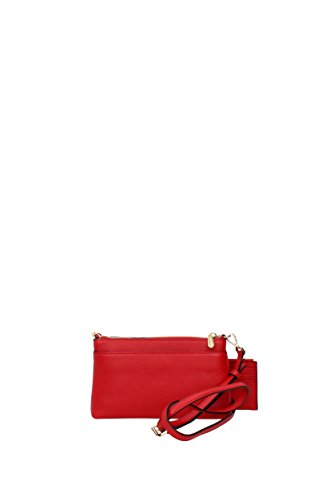 Borse a Tracolla Michael Kors mercer md snap pckt xbody Donna - Pelle (32H6GM9C2L) Rosso