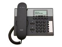 T-Home Concept P413 schnurgebundenes Telefon mit Display und Lautsprecher