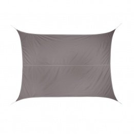 Voile D'ombrage Taupe - Voile d'Ombrage 118492 Curacao Polyester Taupe 3