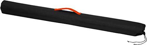 MONACOR BAG-40MS Nylon-Stativtasche zum Transport und zur Aufbewahrung von einem Mikrofonstativ, schwarz