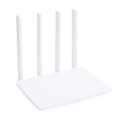 Adminitto88 Dualband WLAN Router 300mbps Mit 4 High-Gain-Antennen Und Leistungskontrolle Von App Für Stabile Netzabdeckung Auf Bis Zu 200m²