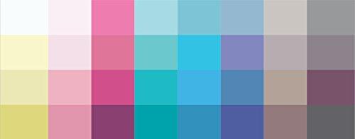 farbkarte sommertyp Großer Farbpass Sommertyp 32 Farben Sommertyp, Farbkarte, Sommerfarben Sommertyp,kalter Farbtyp, Farbfächer, Farbberatung, Typberatung, Farbkarten, Farbpalette