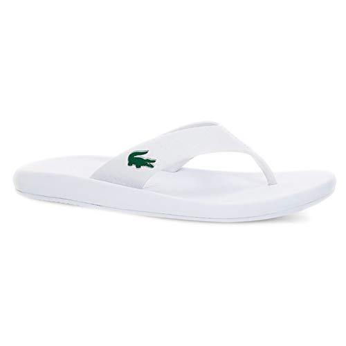 Lacoste, Croco Sandal 219 1 Blanco 37CFA0002, Chanclas