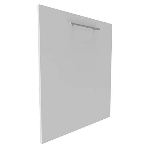 Geschirrspülerfront 19mm voll-, teilintegriert und nach Maß (Weiß, 594x715mm)
