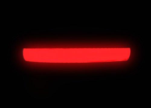 """LED Halsband Hundehalsband """"Zandoo"""" Leuchthalsband für Hunde in der Farbe rot Größe S (35-40 cm) NEU von der Marke PRECORN - 2"""