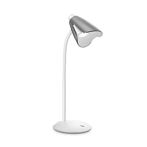 Lampe de Lecture avec Protection des Yeux à LED Tactile Variation Progressive en continu Multi-Angle Pas de lumière Bleue, Pas de fréquence de clignotement Electricité connectée/Rechargeable