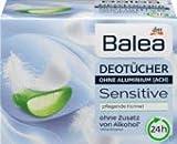 Balea Deo Tücher Sensitive, 1 x 10 St