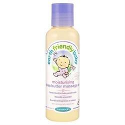 Earth Friendly Baby Shea Butter Massage Oil 125ml -