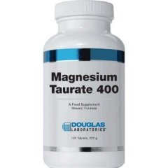Labs Magnesium (Magnesium Taurate 400, 120 Tablets - Douglas Laboratories)