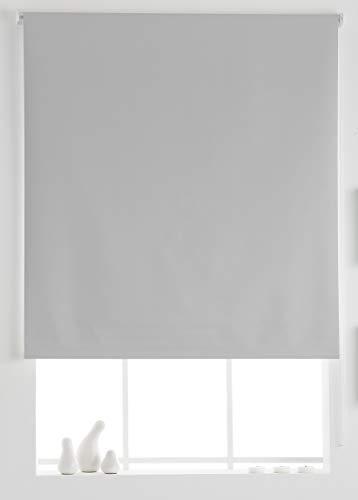 Estoralis Aral Estor Enrollable Liso, Blanco, 130x175 cm