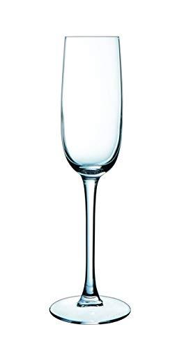 Dajar 04395 6-Sektgläser Versailles Luminarc, 16 cl Clear Crystal Brandy