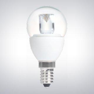 3PACK TCP dimmbar LED 5W E14/SES klar Mini Globe LED Leuchtmittel, 330Lumen, 3000K warmweiß, 230° Abstrahlwinkel, ersetzt Old 30W Glühlampe Mini Globe Leuchtmittel