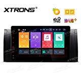 XTRONS 9' Touch Screen Autoradio mit Android 8.0 Octa-Core Autostereo unterstützt 3G 4G WiFi Bluetooth 4GB RAM 32GB ROM DAB & OBD2 TPMS Musik Streaming FÜR BMW E53/X5/E39