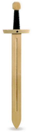Small Foot Company 7755 - Espada de madera del caballero de las estrellas, 66 cm [importado de Alemania]