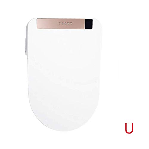 BTSSA WC-Sitze,Dusch-WC Material PVC Sofortige Heizung Fernbedienung Induktion Massage Reinigung Bidets,Ushape (Durchlauferhitzer Kaufen)