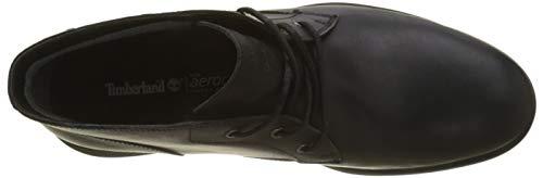 Timberland Men s City s Edge Chukka Boots   Jet Black Mincio 15   8  42 EU