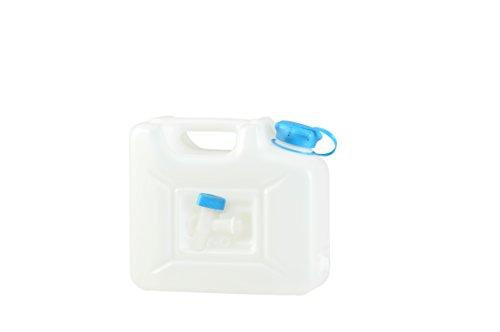 Hünersdorff Bidón para agua PROFI 22 l, PEAD Natural, con protección UV