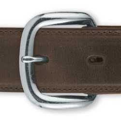 ECONO Schnalle Ferse Bar 2,5cm vernickelt Lederwaren Accent Tandy Leder 1574–22 (Ferse-bar-schnalle)
