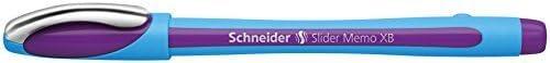 Schneider Slider Slider Slider Memo XB Ballpoint Pen, viola (150208) by Schneider | Consegna veloce  | Outlet Store  | Acquisti online  ab3cde