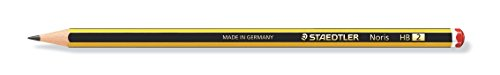 Staedtler Noris 120-2. Lápices de madera certificada. Caja de 12 unidades de lapiceros con graduación HB.