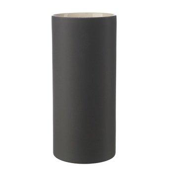 ASA 2590242 Vase Keramik, 30 x 13,5 x 30 cm, schwarz